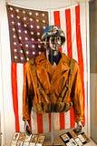 Costume del ` s di capitano America Fotografia Stock Libera da Diritti