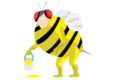 Costume dell'ape illustrazione di stock