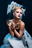 Costume della regina del ragno Fotografia Stock