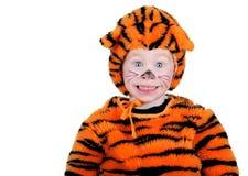 Costume della tigre Fotografia Stock