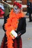 Costume di scheletro Fotografia Stock Libera da Diritti