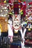 Costume di travestimento - Kukeri fotografia stock libera da diritti
