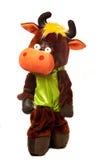 Costume divertente della mucca Fotografia Stock
