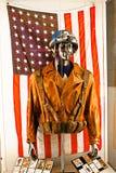 Costume du ` s de capitaine America Images libres de droits