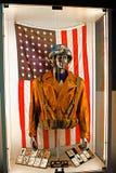 Costume du ` s de capitaine America Image libre de droits