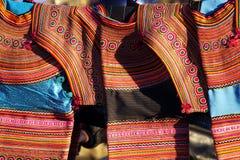 Costume ethnique de Détail photographie stock