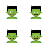 Costume Facial Expressions Royalty Free Stock Image