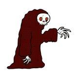 costume fantasmagorique de Halloween de bande dessinée comique Photographie stock