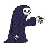 costume fantasmagorique de Halloween de bande dessinée comique Photos stock
