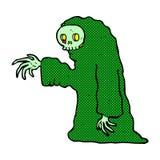 costume fantasmagorique de Halloween de bande dessinée comique Photo stock