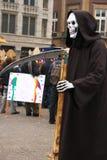 Costume fantasmagorique de Veille de la toussaint Images libres de droits