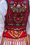 Costume folklorique roumain pour des femmes photos libres de droits
