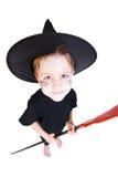 costume halloween мальчика Стоковая Фотография RF