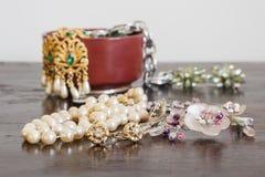 Costume jewelery Royalty Free Stock Photo