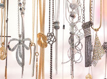Costume jewellery Stock Photography