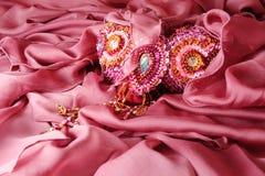 Costume jewellery Royalty Free Stock Photos