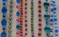 Costume jewellery Beads Stock Image