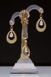 The costume jewellery. Pendant, earrings Stock Photo
