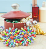 Costume jewelry Royalty Free Stock Photography