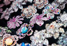 Costume jewelry Stock Photography