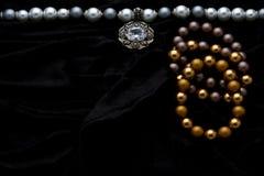 Costume Juwelery Royalty Free Stock Photography