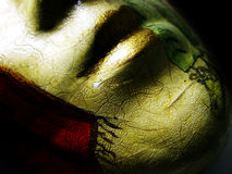 Costume mask. Photo of an italian Costume mask Royalty Free Stock Images