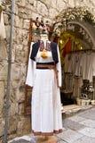 Costume nazionale croato Immagine Stock
