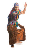 Costume nazionale ecuadoriano Immagine Stock