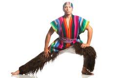 Costume nazionale ecuadoriano Fotografia Stock Libera da Diritti