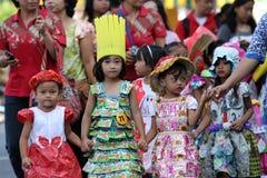 Costume parade Stock Photo
