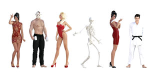 Costume Party Royalty Free Stock Photo