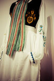 Costume polacco tradizionale Fotografia Stock