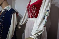 Costume polacco tradizionale Fotografia Stock Libera da Diritti
