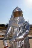 Costume protecteur du feu Photos libres de droits
