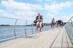 Costume ride Royalty Free Stock Photography