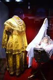 The costume of the royal nurse. The costume of the nurse of the royal family Royalty Free Stock Image