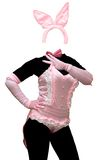 Costume sexy de lapin Photos stock