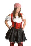 Costume sexy de pirate Photos stock