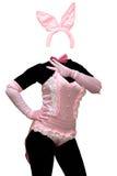 Costume sexy del coniglietto Fotografie Stock