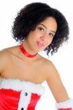 Costume sexy della Santa Fotografia Stock