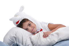Costume of sheep Royalty Free Stock Photos