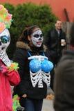 Costume squelettique Photo libre de droits