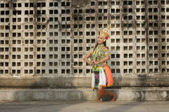 Costume thaïlandais de Nora images libres de droits