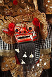 Costume of Barong for a traditional Balinese dance Stock Photo