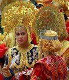 Costume traditionnel de Sumatra occidental Photos libres de droits