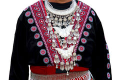 Costume of the tribe. Stock Image