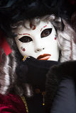 costume venice масленицы Стоковая Фотография RF
