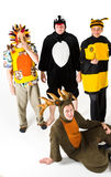 Costumed Characters Royalty Free Stock Photos