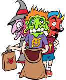 Costumed Children Stock Images
