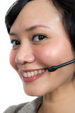 Costumer Service Agent Royalty Free Stock Images